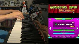 Baixar Geometry Dash Meltdown - Viking Arena (Piano Cover by Amosdoll)