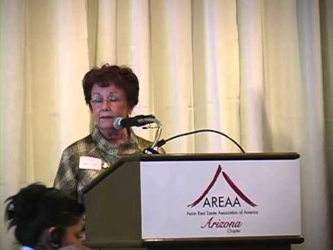AREAA - Speaker Judy Lowe, Commissioner, Arizona Department of Real Estate
