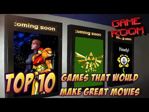 Top 10 Video Games that Would Make Great Movies - Game Room