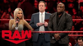 Rusev presents a special Lana-Lashley wedding album: Raw, Jan. 6, 2020
