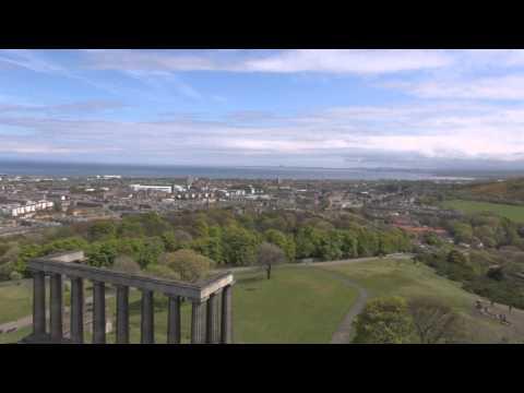 the nelson monument Edinburgh urbex