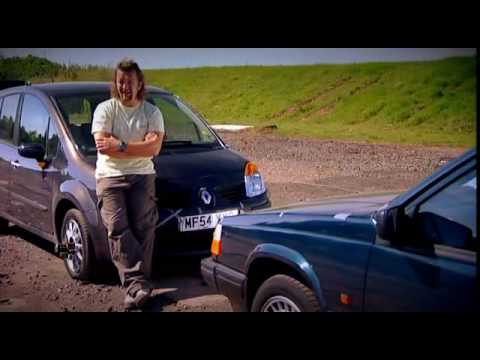 Fifth Gear Renault Modus Vs Volvo 940 Crash Test Small
