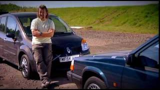 Fifth Gear - Renault Modus vs Volvo 940 crash test (small but modern VS big but old)