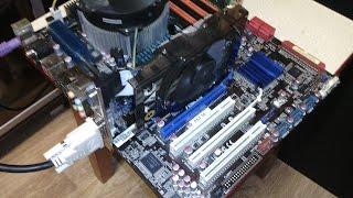 Скидаються налаштування BIOS. Материнська плата ASUS P6T SE (LGA1366)