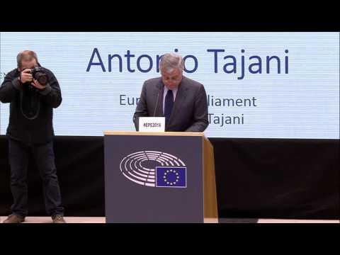 Antonio Tajani, European Parliament