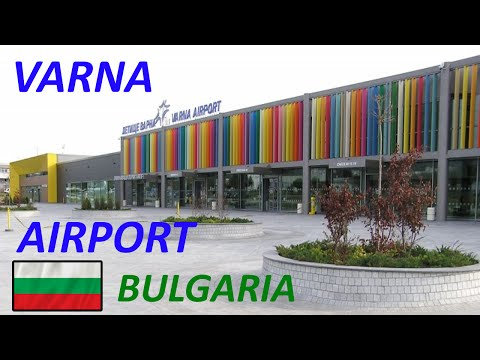 AIRPORT VARNA  - BULGARIA I Lotnisko Warna - Bułgaria