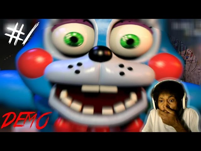 WARNING: NIGHTMARE FUEL | Five Nights At Freddys 2 - Night One COMPLETE