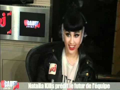 Natalia Kills to « C'Cauet » Live on NRJ - Interview & Mirrors in Acoustic Version
