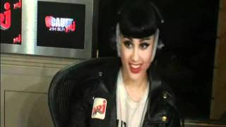 Gambar cover Natalia Kills to « C'Cauet » Live on NRJ - Interview & Mirrors in Acoustic Version