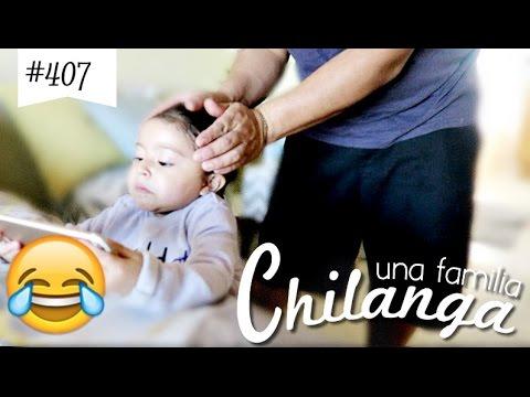 """LO QUE PASA CUANDO UN PAPÁ PEINA A SU HIJA!! VLOGS DIARIOS #407 """"Una Familia Chilanga"""""""