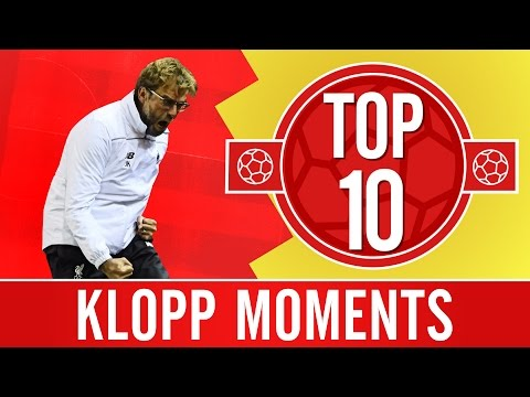 TOP 10: Jürgen Klopp moments we'll never forget
