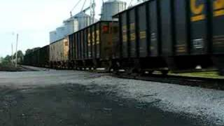 INRD Freight Train With 5 Passenger Cars!!!