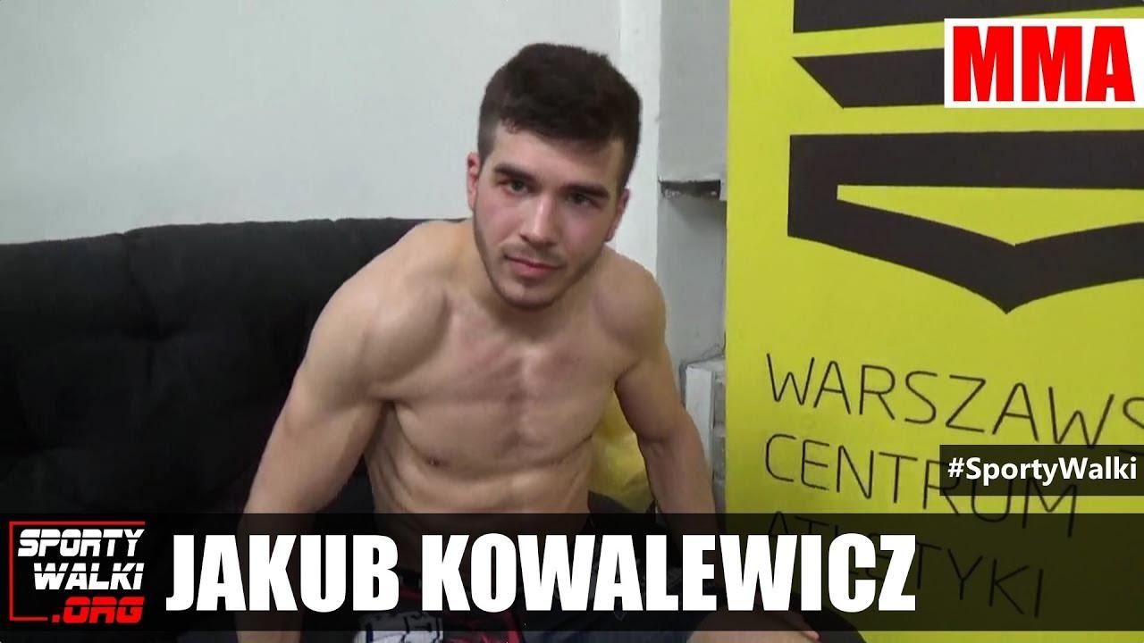 Jakub Kowalewicz przed walką o pas federacji Brave