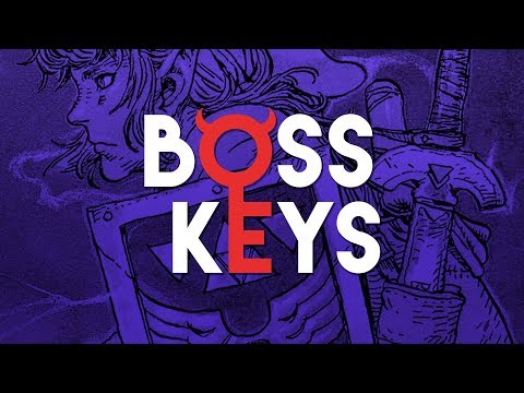 The Legend of Zelda / Zelda II's dungeon design | Boss Keys