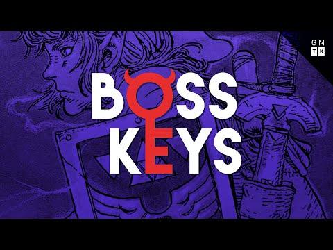 The Legend of Zelda / Zelda II's dungeon design   Boss Keys