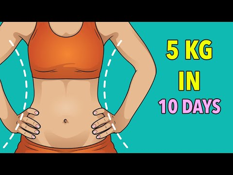 Lose 5 Kg in 10 Days – Weight Loss Workout At Home