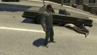 Забавные моменты в GTA 4 (3)