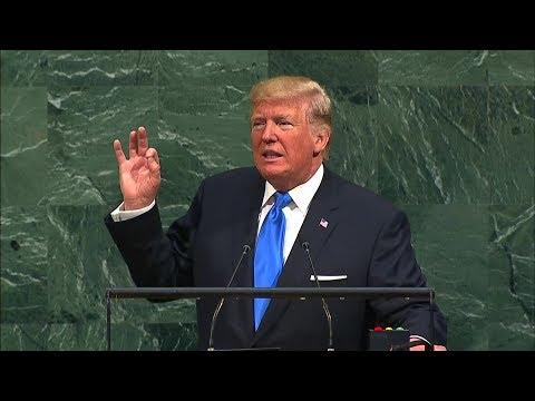 """Rede vor der Uno: Trump droht Nordkorea mit """"völliger Zerstörung"""""""