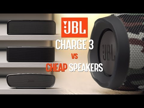 JBL Charge 3 vs CHEAP speakers - OVERPRICED!