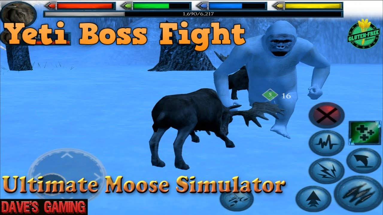 Ultimate Moose Simulator-Part 2-Ultimate Arctic Simulator-By Gluten Free games-IOS/Android