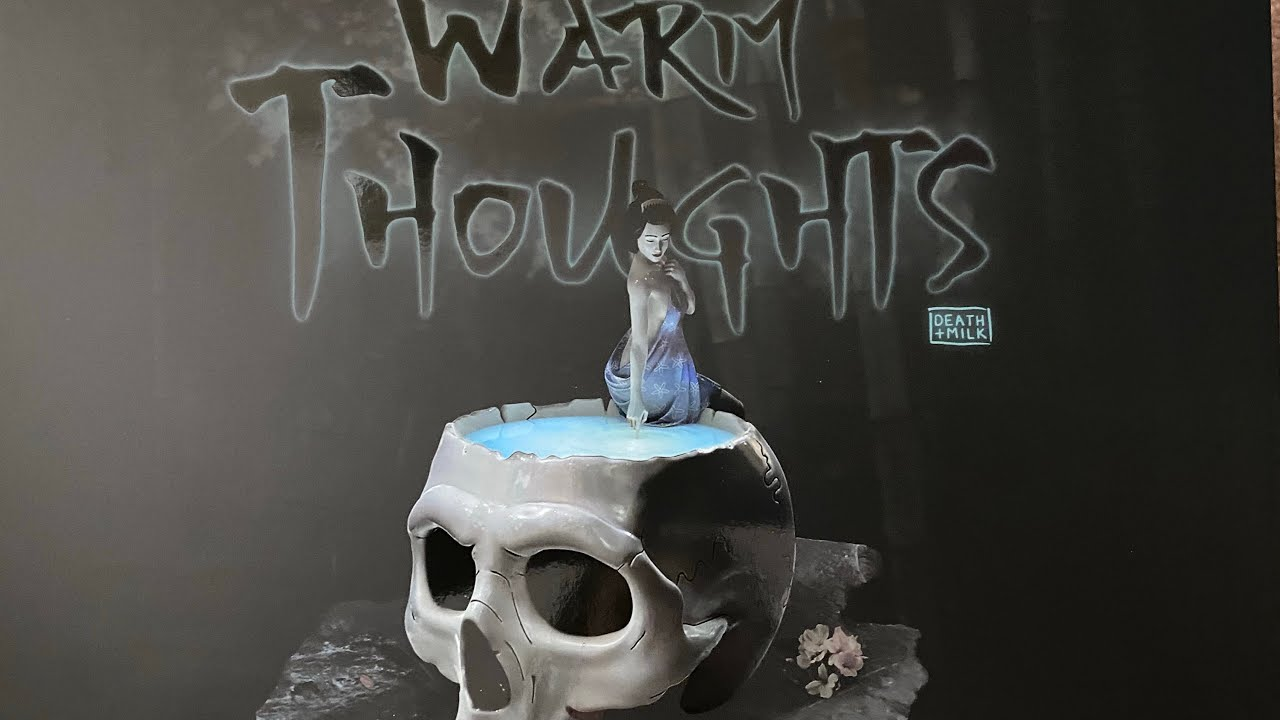 Warm Thoughts by Death and Milk UNBOXXING mightyjaxx toy