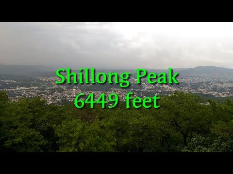 Shillong Peak,View Point, Khasi Hills, height 6449 feet, Tra