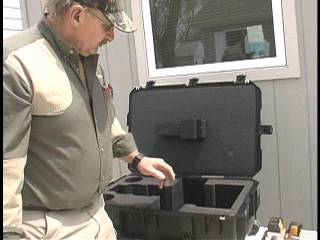 Demonstration Of [The Model 1000LP Rifle Rest] Carrying Case