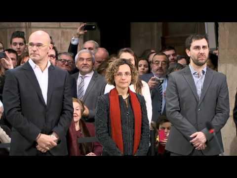 Presa de possessió dels membres del Govern de la Generalitat de Catalunya (14.01.2016)