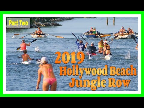 2019 Hollywood Beach Jungle Row (Part Two Of Six)