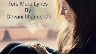 Tere mere darmiyan female lyrical video heart touching song ❣