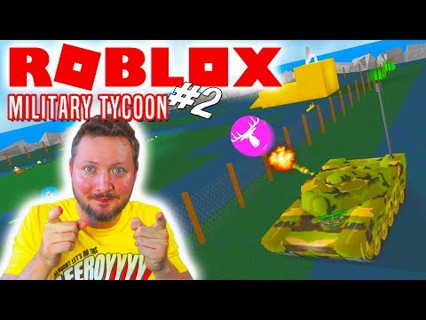 TANK KRIG MED DEN MANDIGE ELG! - Roblox 2 Player Military Tycoon Dansk Ep 2