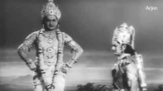 Sri Krishnavataram - Sri Krishna Geethopadesam to Arjuna - NTR, RamaKrishna