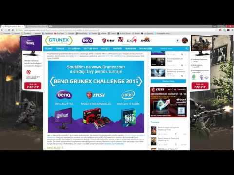 Vyhlášení velké soutěže BenQ Grunex...