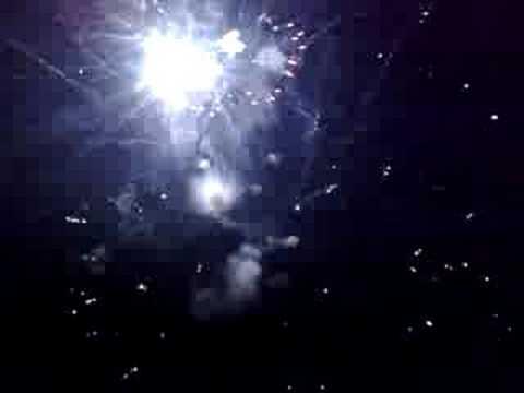 Fuochi d'artificio di fine estate a Castione della Presolana