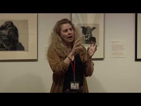 Curator Henriette Kets de Vries gallery talk on Kollwitz exhibition 4.1.16
