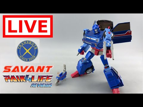 Livestream Review: X-transbots Savant Preview // P4L Reviews