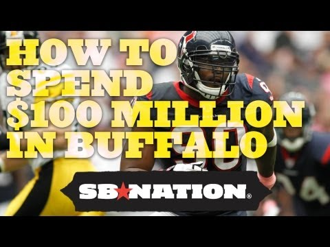 What Can Mario Williams Do with $100 Million in Buffalo?
