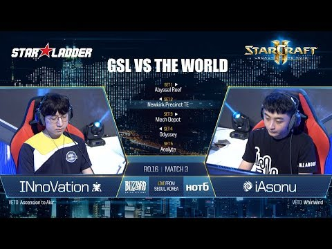 GSL vs the World Ro16: INnoVation (T) vs iAsonu (Z)