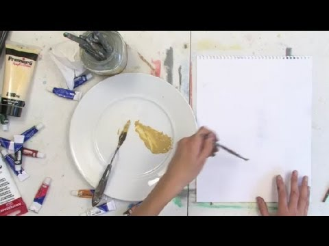 what color to use on a beach scene for sand using acrylic paint