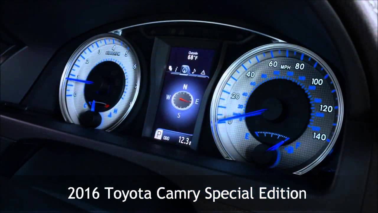 2016 toyota camry special edition from vandergriff toyota serving dallas and arlington tx