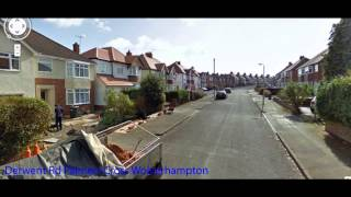 The Man in the Sky 1957 WOLVERHAMPTON film Location clips 2012.