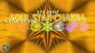 SOUL STAR CHAKRA27220 Hz Sound Healing Bells amp Powerful Healing Mantra Frequency Music For Sleep