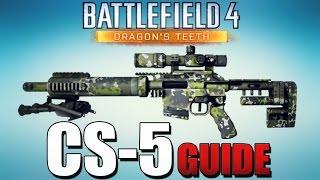 Battlefield 4: CS5 Sniper Waffen Guide - Mein Scout Elite Ersatz? (Dragon`s Teeth)
