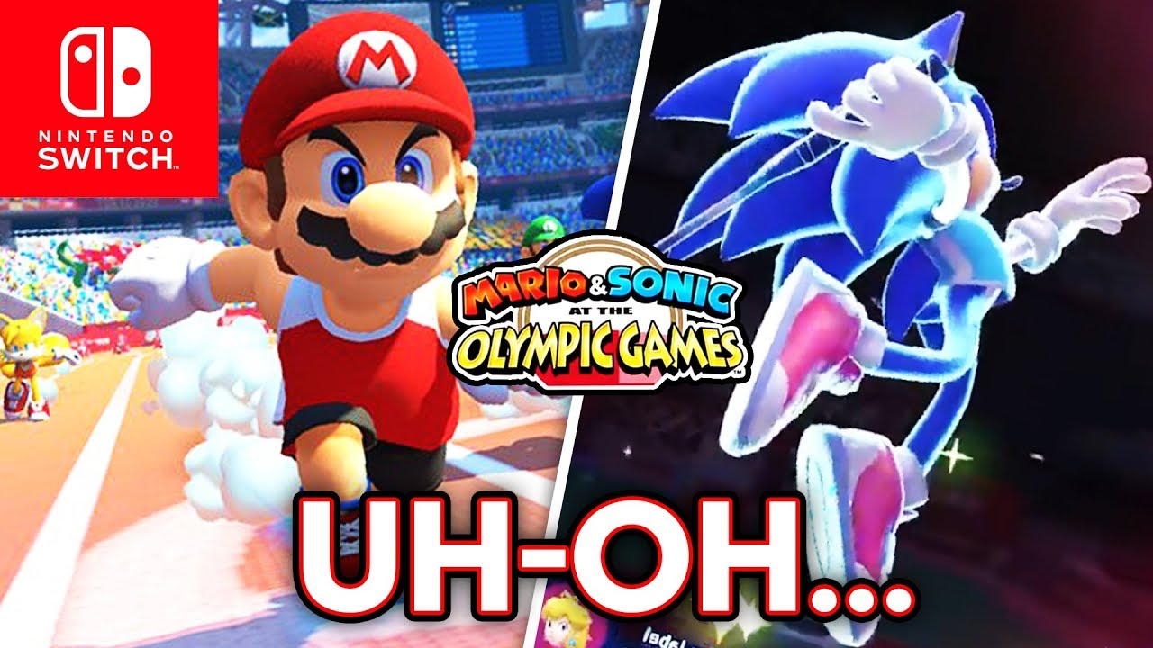 This Will Ruin Mario Sonic 2020 Olympics For Switch