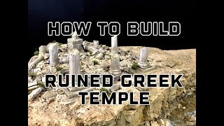 Baixar How To Make A Ruin Greek Temple Model For Your Tabletop Games
