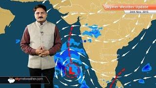 [HINDI] Weather Forecast for November 24: Rainfall in Tamil Nadu, Karnataka, Kerala and Maharashtra