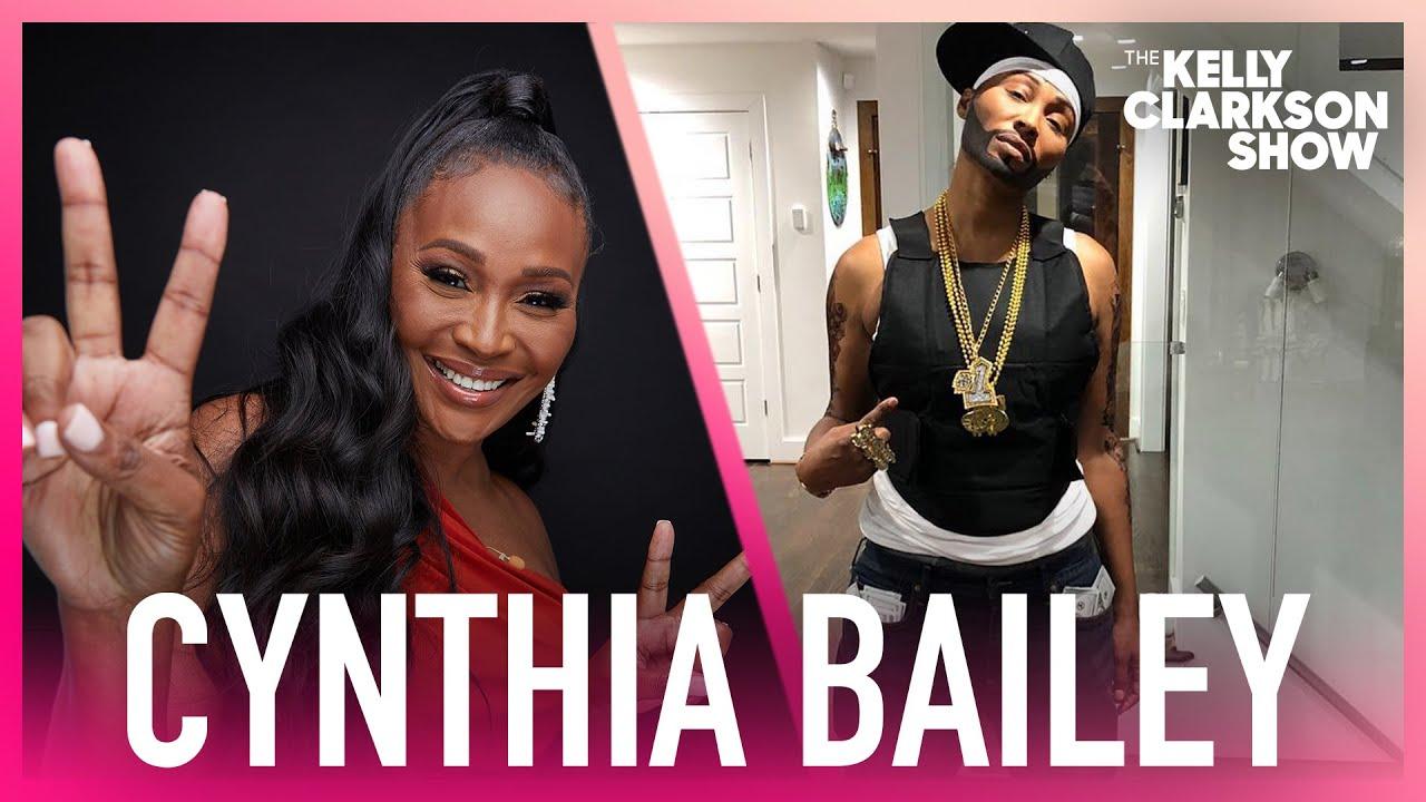 'RHOA' Cynthia Bailey Dressed Up As 50 Cent For Halloween