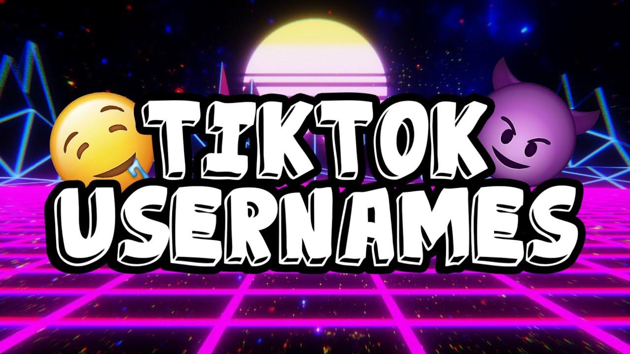 Badass Tiktok Usernames Youtube