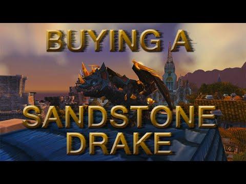 BUYING THE SANDSTONE DRAKE! - World Of Warcraft Gameplay