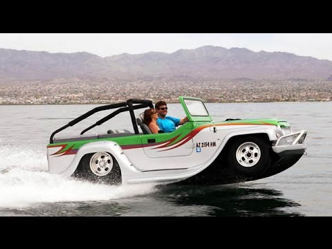 Amphibious Jeep - The Water Car - YouTube